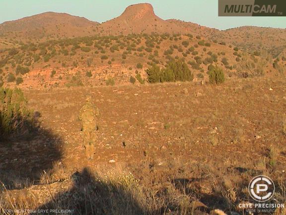O padrão de camuflagem MultiCam Multicam-desert