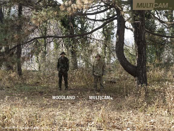 Ghillie suit maison! - Page 5 Multicam-vs-woodland