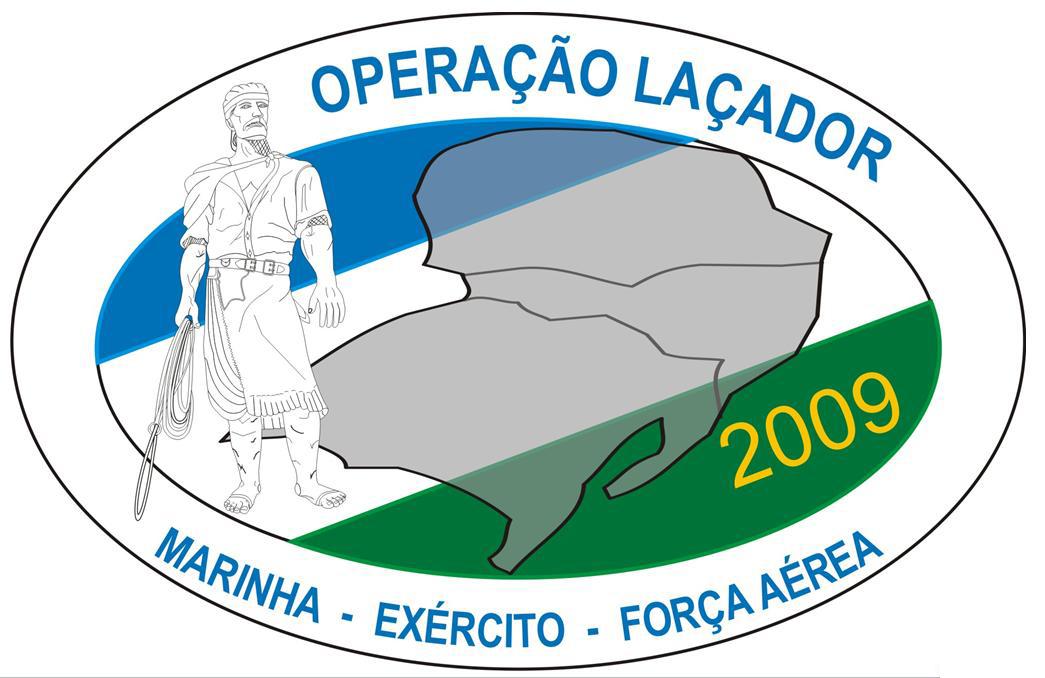 operação laçador 2009 - logo gde