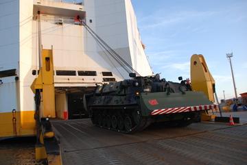 Desembarque Leopard 1A5 - foto 9 CMS