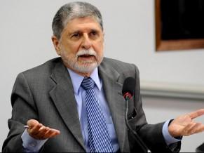 Celso Amorim em Audiência na Câmara - 9 de junho 2010 - foto Agência Brasil