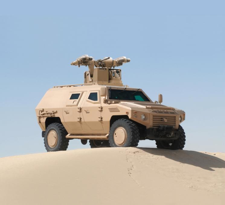 MPCV deserto - foto MBDA