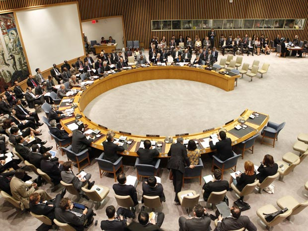 Reunio do Conselho de Segurana da ONU - 9 de junho de 2010 - foto Reuters