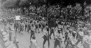 Desfile de retorno da FEB