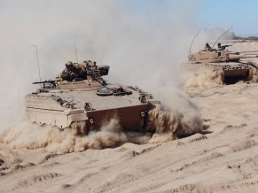 Chile Marder and Leopard 2A4