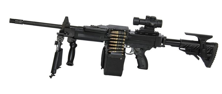 Israel Weapon Industries (IWI)  metralhadora leve NEGEV NG7