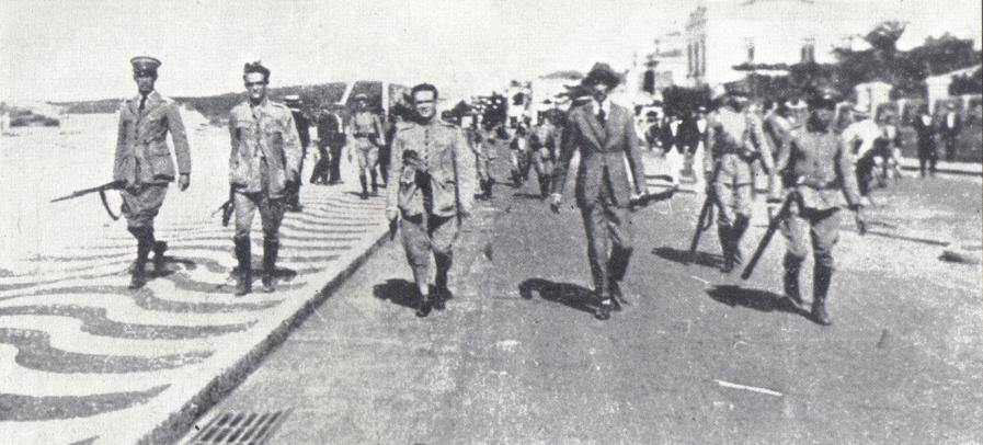 Resultado de imagem para levante do forte de copacabana 1922