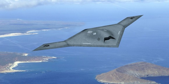 X-47B_over_coastline