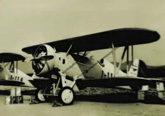 Boeing F-4B4 - tipo encomendado pelo Governo Vargas em 1932 para combater rebeldes da Revolução Constitucionalista