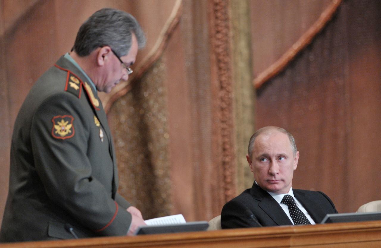 Sergei Shoigu e Putin