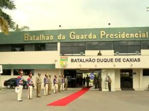 dia da vitoria 2014 - batalhao da guarda presidencial