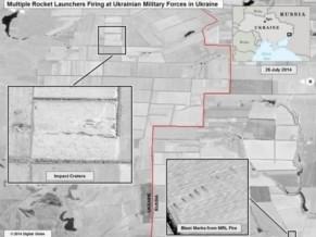 os-estados-unidos-divulgaram-imagens-de-satelite-que-segundo-o-governo-confirmam-suas-alegacoes-de-que-a-artilharia-russa-disparou-em-direcao-a-ucrania-em-apoio-aos-separatistas - FOTO USDOD