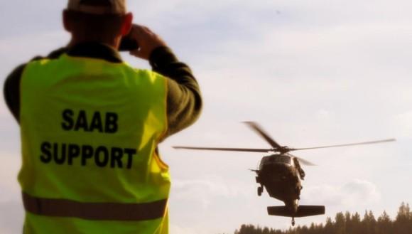 Saab fornece sistema de treinamento em exercício OTAN - foto Saab
