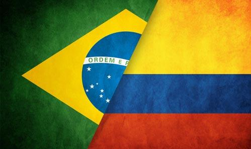 Resultado de imagem para brasil x colombia