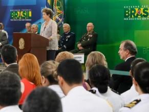 Dilma discursando
