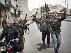 Free Syrian Army - foto Yazan Homsy