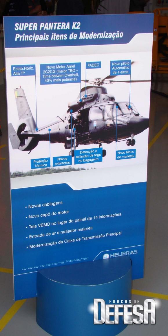 Modernização Pantera na Helibras - foto Nunão - Forças de Defesa