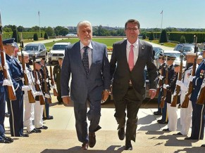 Jaques Wagner e Ashton Carter - foto G Fawcet via Ministério da Defesa