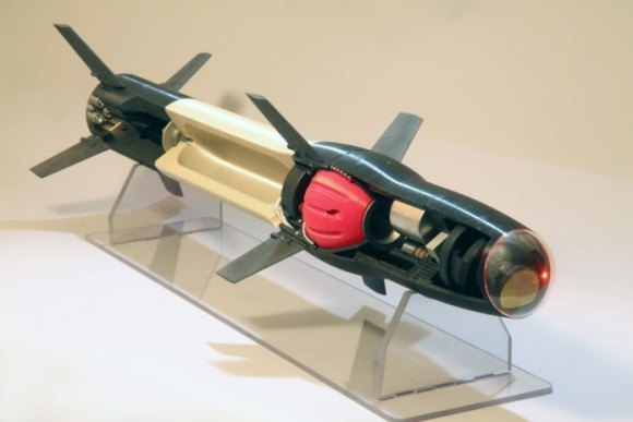 Raytheon missile built with 3D printer parts
