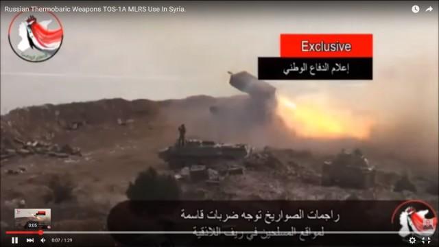 TOS-1 na Siria 1