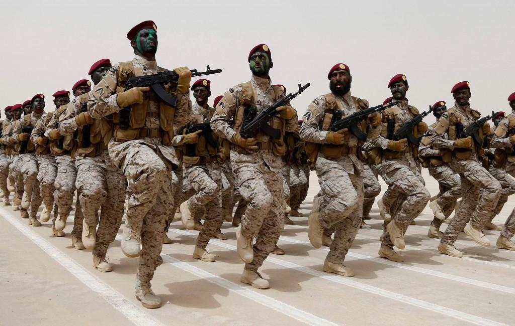 saudi-troops