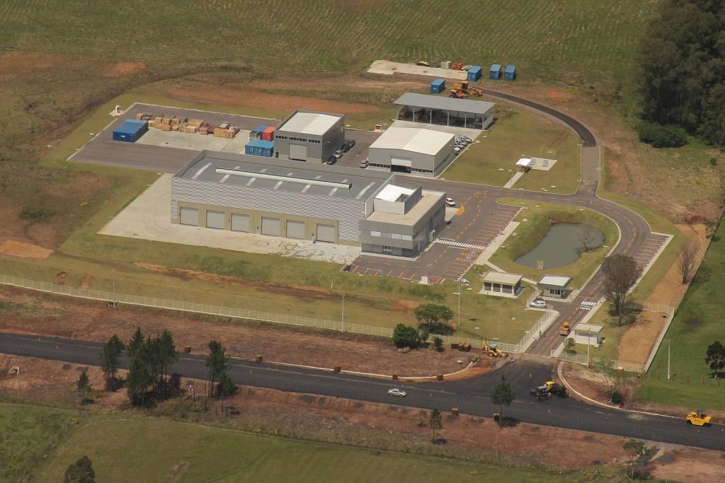Fabrica KMW em Santa Maria-RS