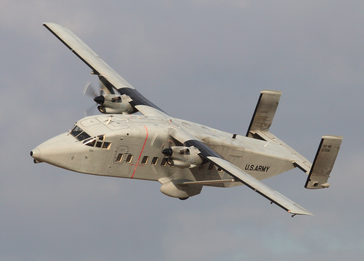 C-23 Sherpa: Cheap, versatile, at-risk