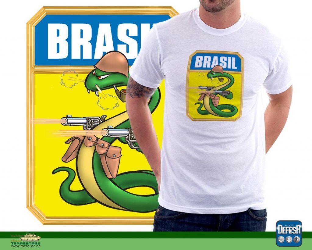 """A Cobra vai fumar"" de Walt Disney – www.defesastore.com.br"