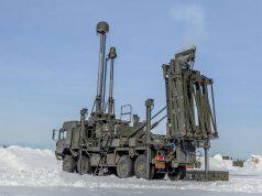 Land Ceptor lançando míssil CAMM