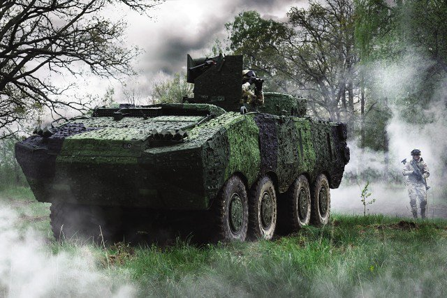 Camuflagem multiespectral da Saab
