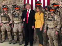 O presidente Trump twittou fotos suas com os SEALs da Marinha dos EUA no Iraque