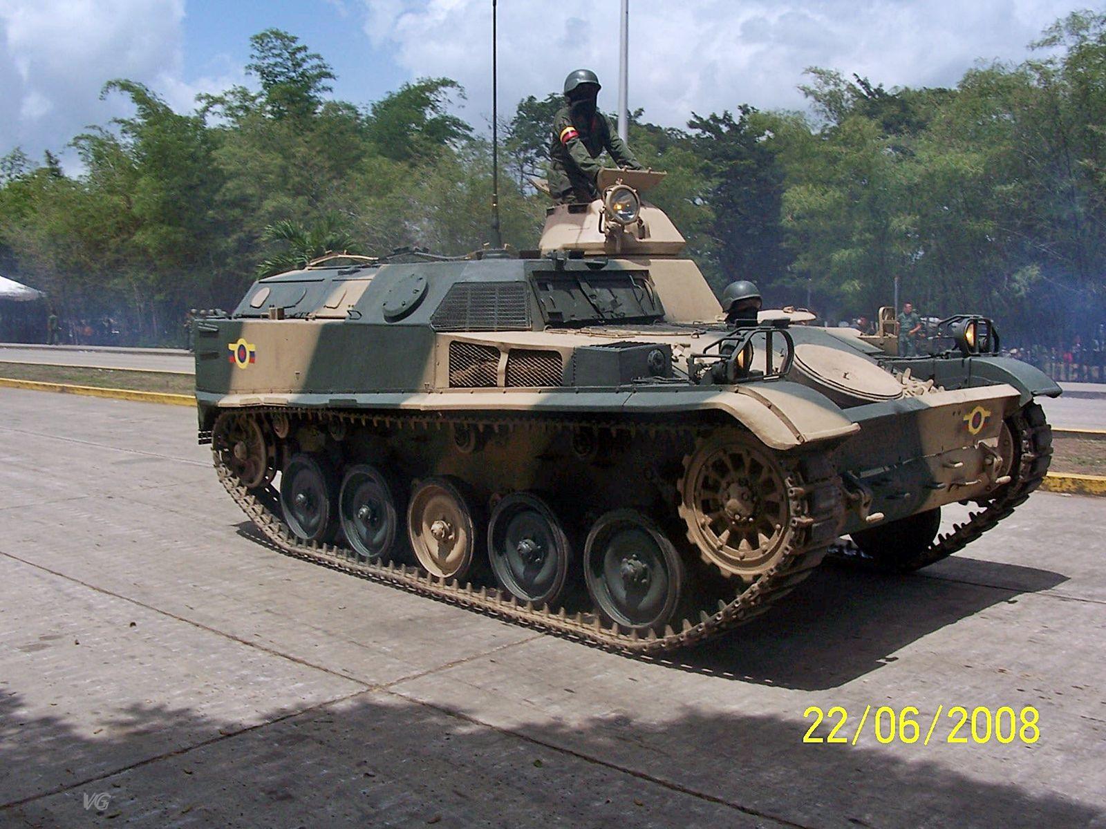 Blindado AMX-13 VTT da Venezuela