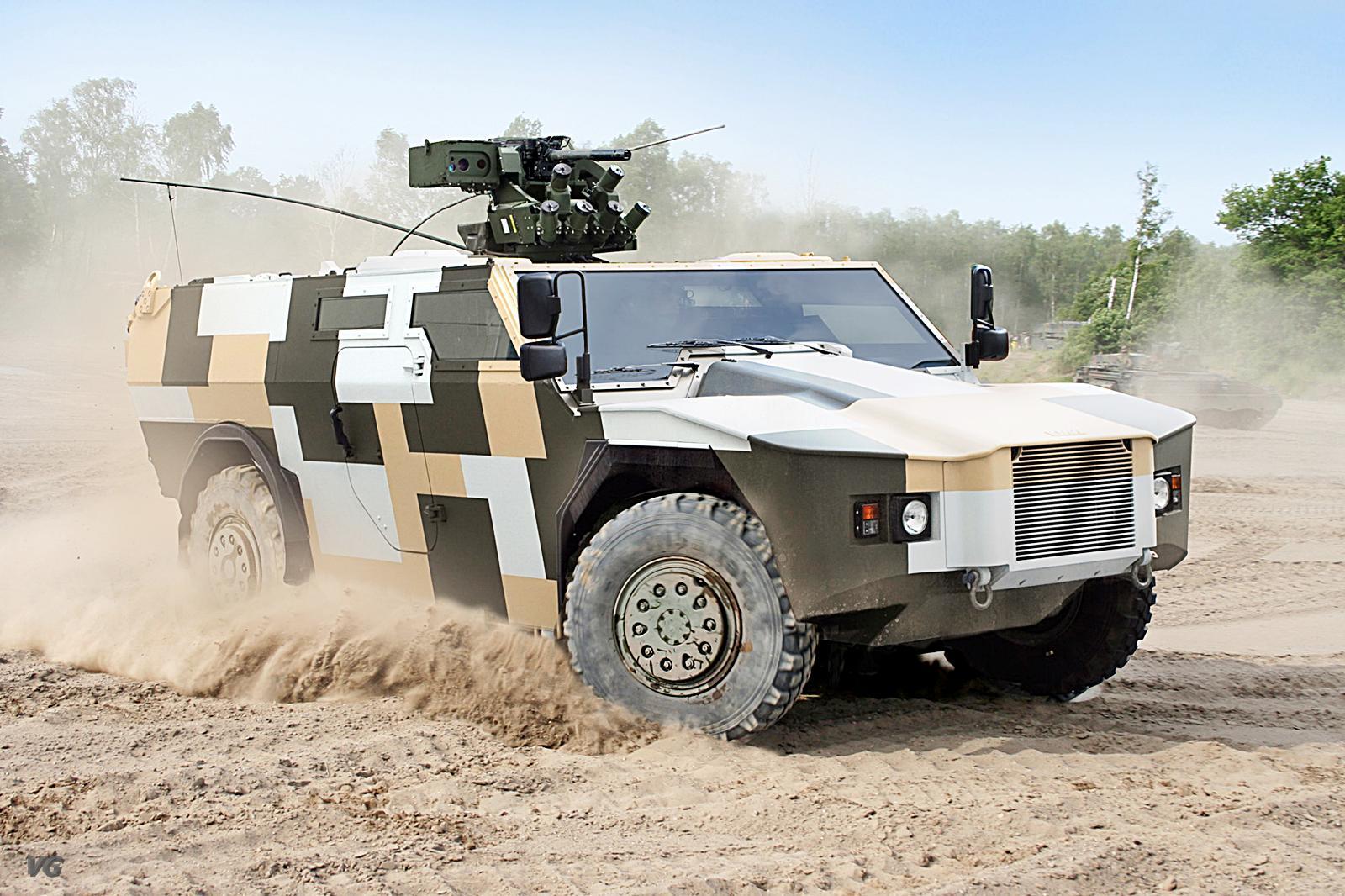 Veículo KMW F2US