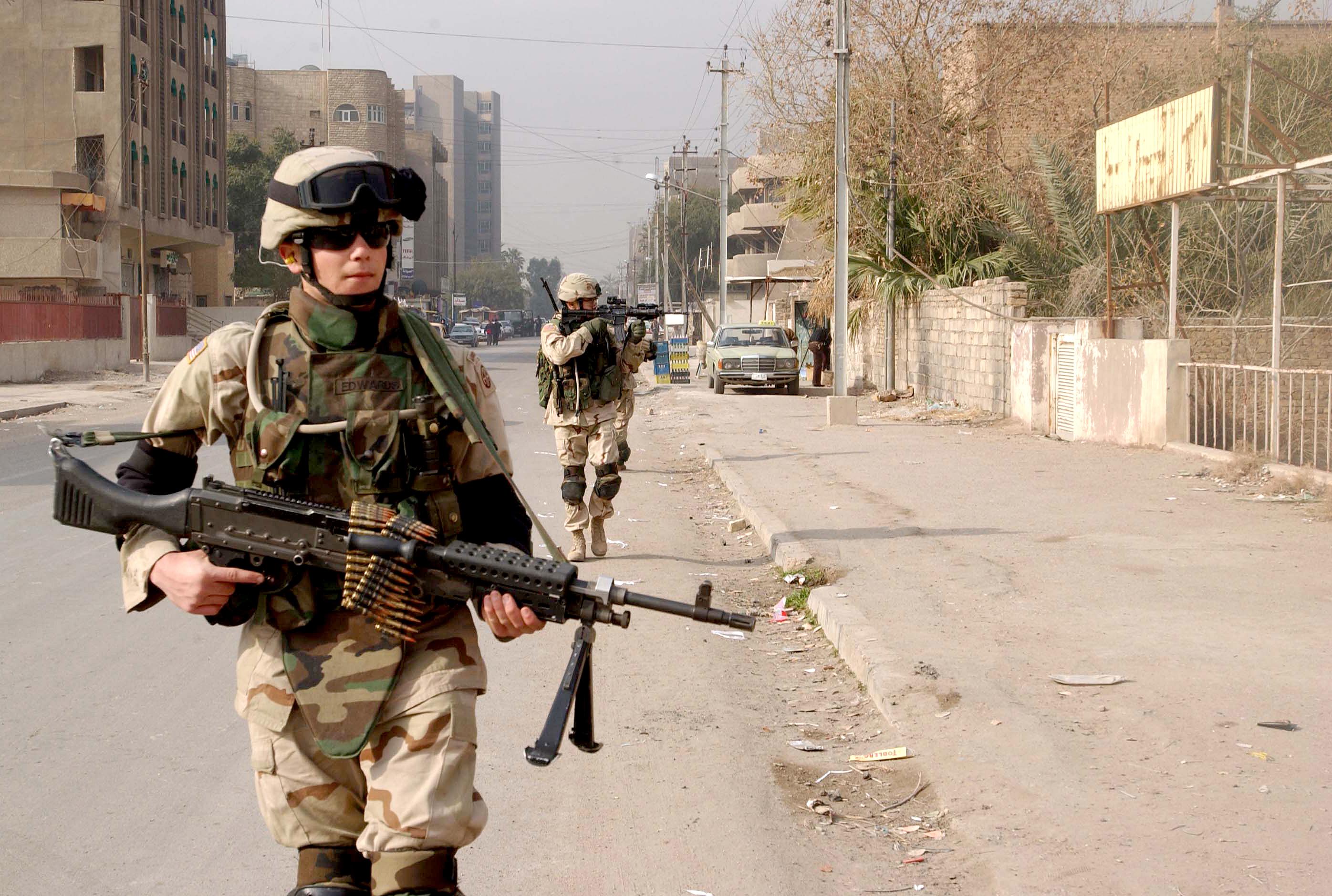 Forças Americanas no Iraque