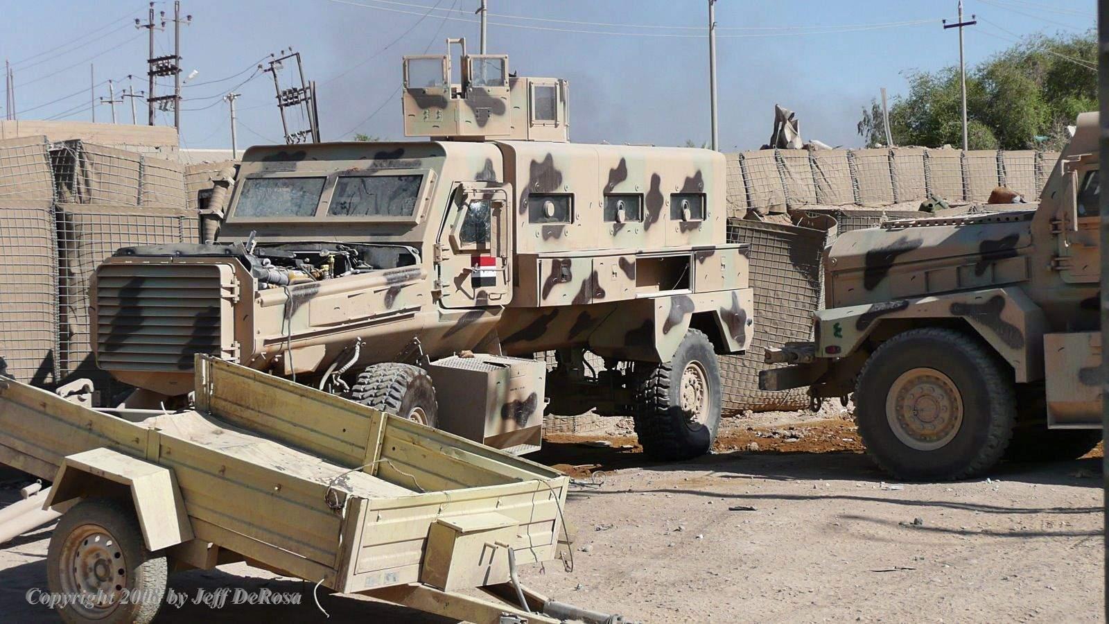 VBL Cougar H 4x4 Iraque