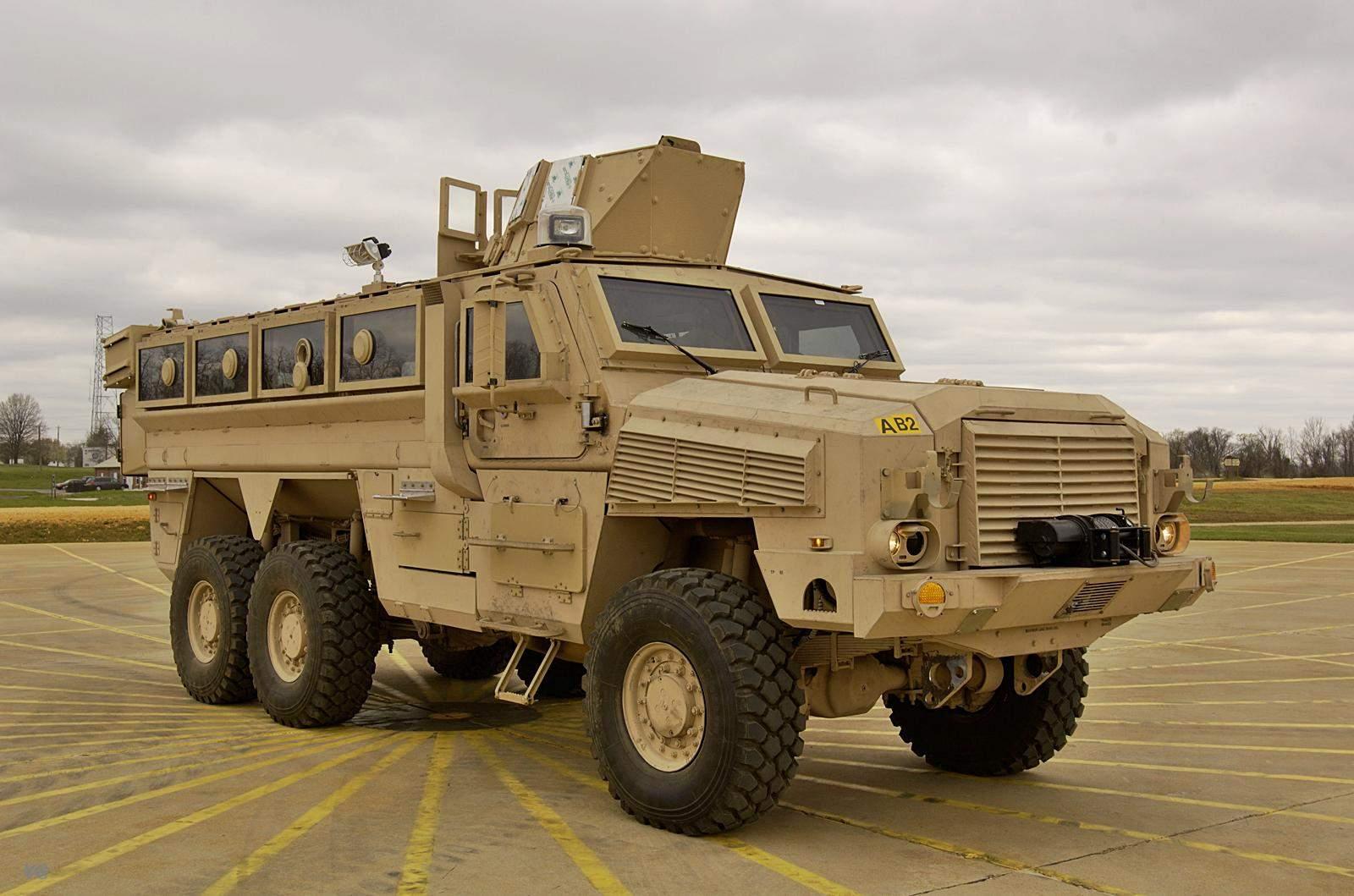 MRAP BAE RG-33L