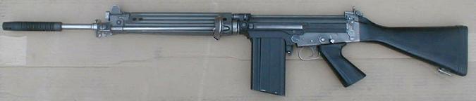 Steyr STG58, o FAL austríaco