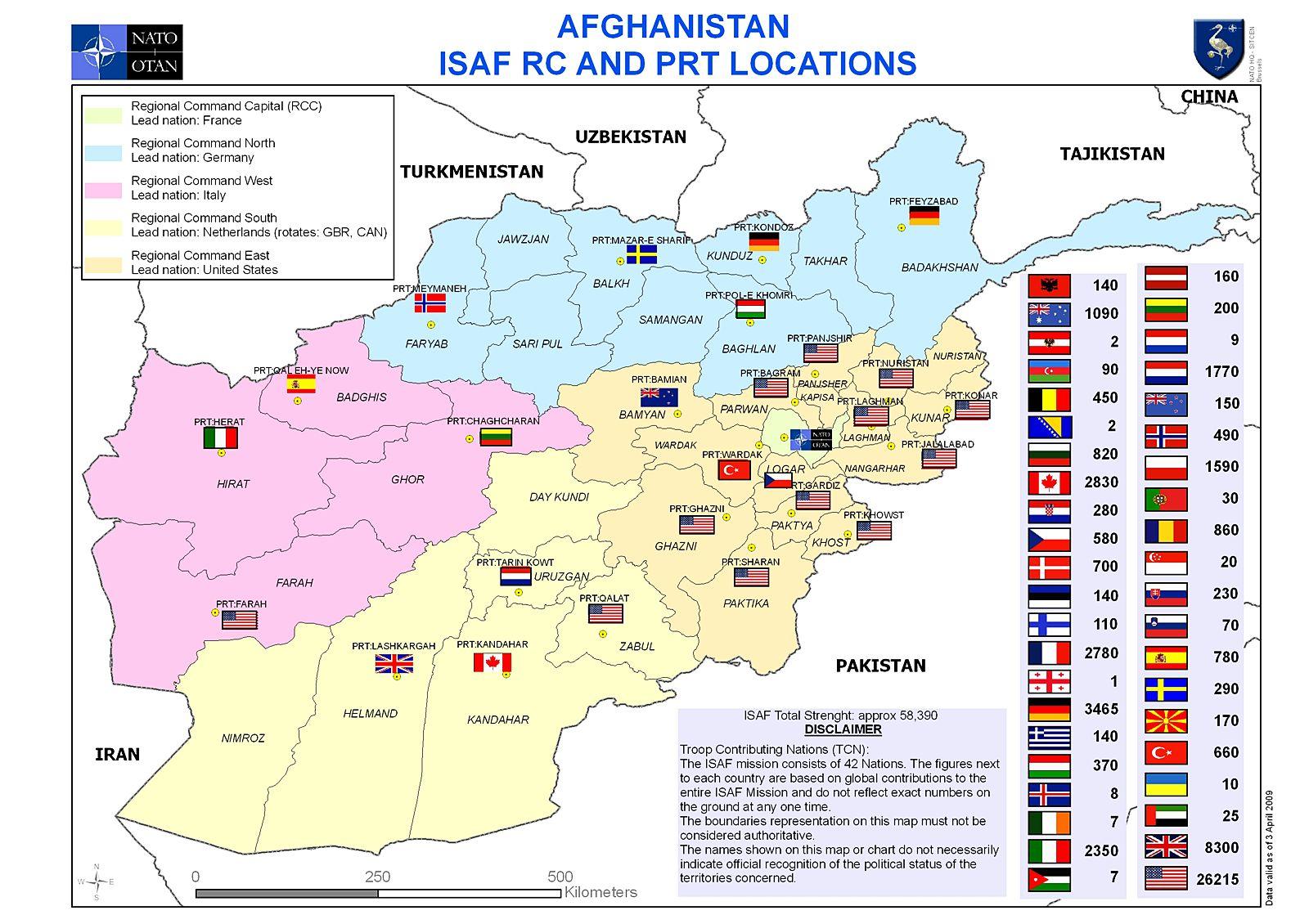 ISAF no Afeganistão