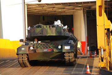 Desembarque Leopard 1A5 - foto 1 CMS