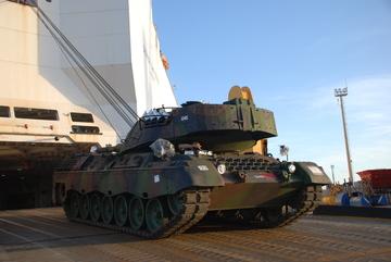 Desembarque Leopard 1A5 - foto 2 CMS