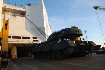 Desembarque Leopard 1A5 - foto 8 CMS