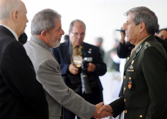 Presidente cerimônia novos oficiais generais - foto Agência Brasil