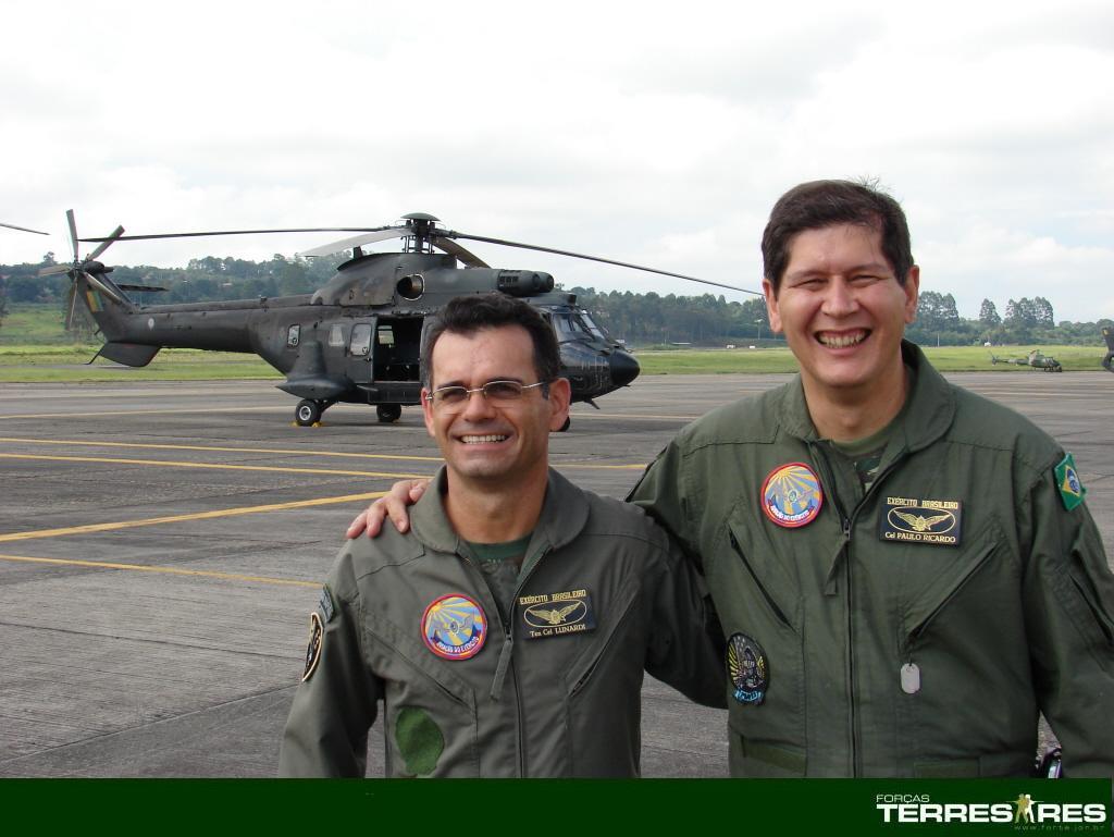 TC Lunardi e Cel. Paulo Ricardo