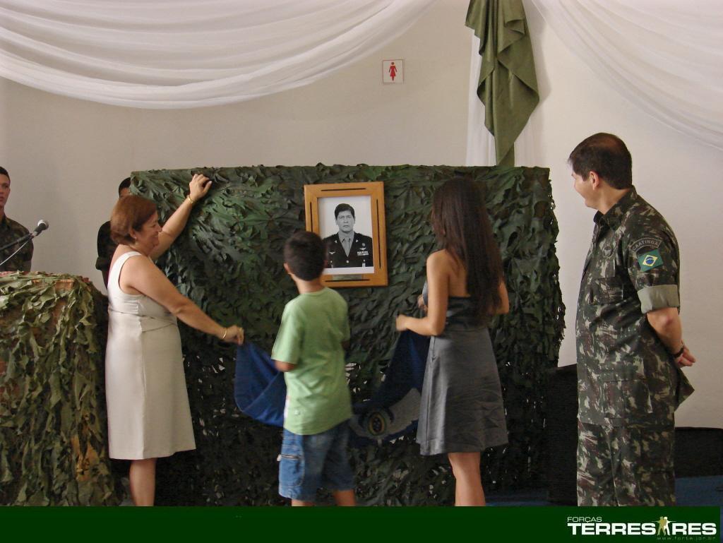 Inauguração da foto oficial