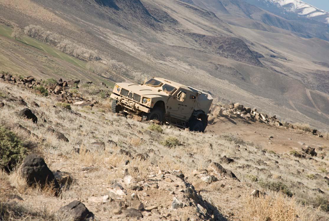M-ATV - foto Oshkosh