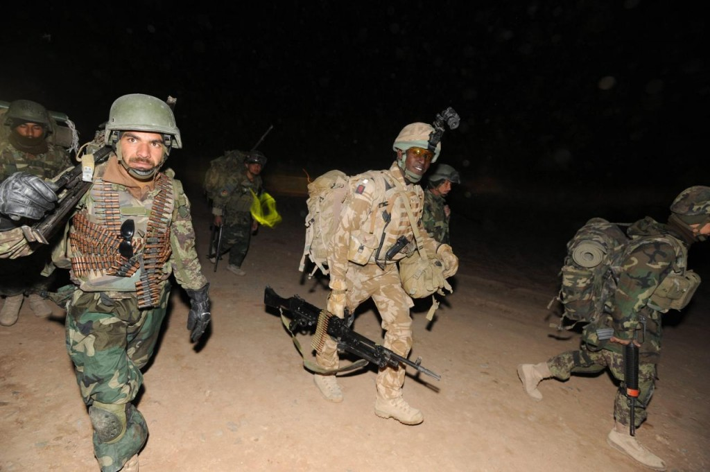 NATO ofensiva Afeganistão - EPA