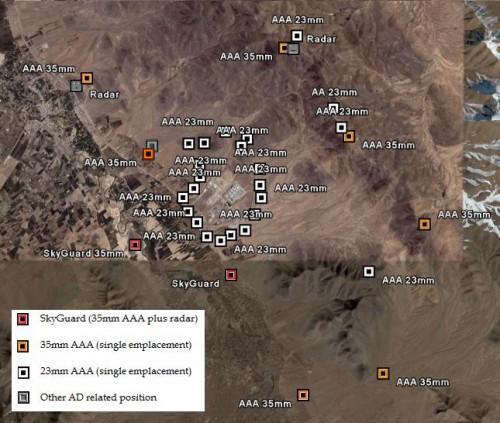 Arak Air Defenses