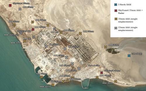 Bushehr Air Defenses