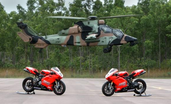 Tiger e Australian Ducati Super Bike team