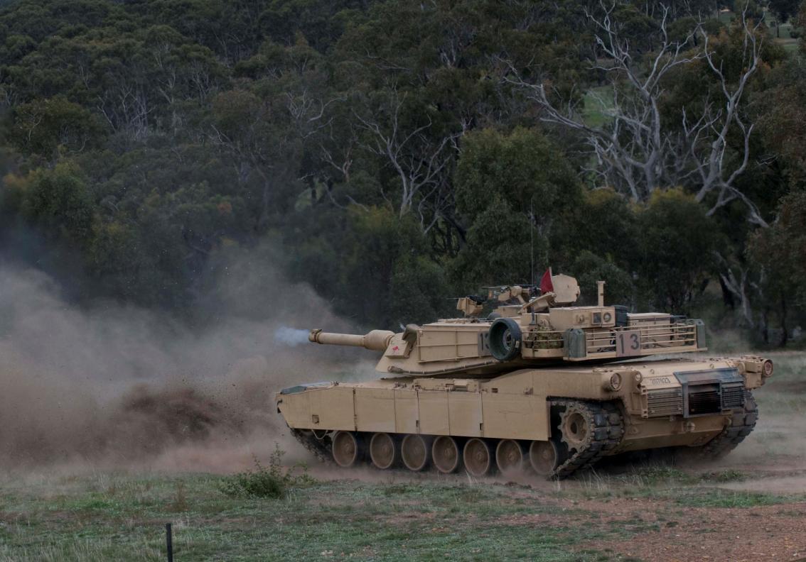 Abrams M1A1 na Chong Ju- foto 2 MoD Australia